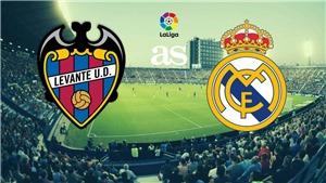 KẾT QUẢ BÓNG ĐÁ, Levante 0-2 Real Madrid: Benzema 'thông nòng', Real giành thắng lợi trên sân khách