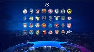 Kết quả bốc thăm Champions League: MU chung bảng với PSG, Juventus tái ngộ với Barcelona