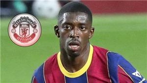 Chuyển nhượng 2/10: Lương Dembele 215 nghìn bảng/tuần ở MU,PSG tranh Aouar với Arsenal