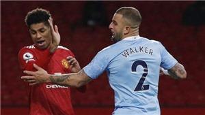 MU 0-0 Man City: VAR tước phạt đền của MU, derby Manchester bất phân thắng bại