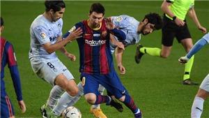 Barcelona 2-2 Valencia: Barca rơi chiến thắng trong ngày Messi san bằng kỷ lục của Pele