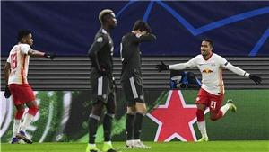 Leipzig 3-2 MU: Fernandes và Pogba ghi bàn, MU vẫn phải xuống Europa League