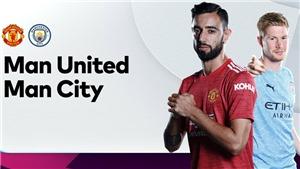 Trực tiếp bóng đá. MU vs Man City. Link xem trực tiếp MU đấu với Man City