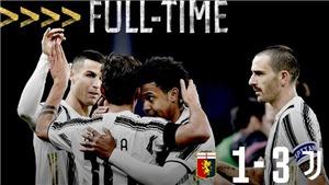 Genoa 1-3 Juventus: Ronaldo và Dybala nổ súng, Juve thu hẹp khoảng cách với Milan