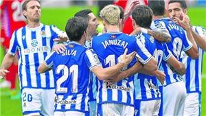 Vì sao MU phải dè chừng Real Sociedad?