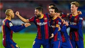 Kết quả Barcelona 2-2 Valencia: Messi san bằng kỷ lục của Pele, Barca vẫn chia điểm