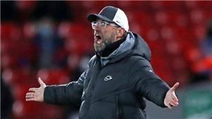 Liverpool mất điểm, Klopp ca cẩm West Brom đã chơi với 6 hậu vệ