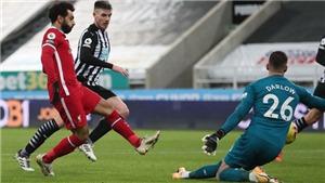 Newcastle 0-0 Liverpool: Salah im tiếng, Liverpool có thể bị MU chiếm ngôi đầu