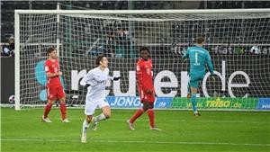 Gladbach 3-2 Bayern Munich: 'Hùm xám' thua ngược dù dẫn trước 2-0
