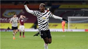 Burnley 0-1 MU: Pogba vô lê đẳng cấp giúp MU lên đầu bảng