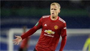 Chuyển nhượng 23/1: MU không cho mượn Van de Beek. Liverpool tranh Delan Rice với Chelsea