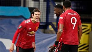 Trực tiếp bóng đá Arsenal vs MU: Solskjaer nên sử dụng Cavani hơn Martial?