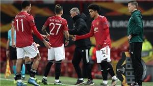 Sao trẻ MU phá vỡ kỷ lục 40 năm khi ra sân ở Europa League