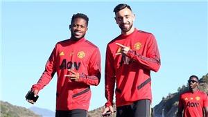 MU: Fernandes khuyên Fred 'đừng cố sút bóng nhiều nữa'