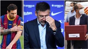 'Cuộc chiến vương quyền' khiến Barcelona lâm vào khủng hoảng