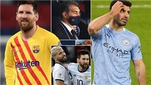 Barcelona mua Aguero để thuyết phục Messi ở lại