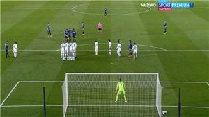 Atalanta gây sốt với pha dàn xếp đá phạt thành bàn vào lưới Real