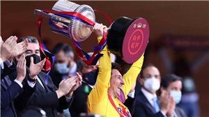 Bilbao 0-4 Barcelona: Lập cú đúp, Messi đi vào lịch sử. Koeman có danh hiệu đầu tiên