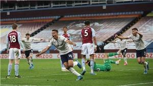 Aston Villa 1-2 Man City: Thắng nhọc sân khách, Man City lại bỏ xa MU 11 điểm