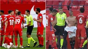Trọng tài La Liga 'lỡ' thổi còi hết trận sớm khiến 2 đội phải quay vào đá lại
