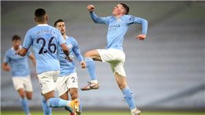 Kết quả bóng đá Crystal Palace 0-2 Man City: Aguero ghi bàn, Man City chờ MU gục ngã để xưng vương