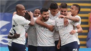 Crystal Palace 0-2 Man City: Hơn 13 điểm, Man City chờ MU thua Liverpool để vô địch