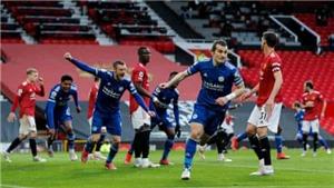 MU 1-2 Leicester: Đội hình B của Solskjaer 'giúp' Man City vô địch sớm