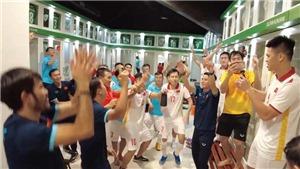 Tuyển futsal Việt Nam hát vang 'Như có Bác Hồ trong ngày vui đại thắng'