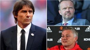 Tin bóng đá MU 28/5: MU chi 300 triệu bảng mua 4 cầu thủ, nên bổ nhiệm Conte thay Ole