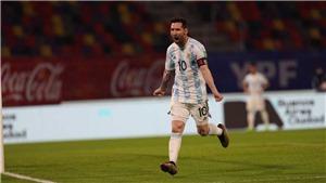 Argentina 1-1 Chile: Messi ghi bàn, Argentina vẫn lỡ cơ hội chiếm ngôi đầu