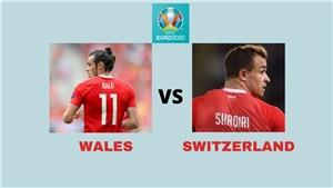 Link xem trực tiếp bóng đá Wales vs Thụy Sỹ. VTV6, VTV3 trực tiếp EURO 2021
