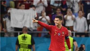 Tin EURO 24/6: Ronaldo cân bằng kỷ lục ghi 109 bàn. Báo Anh: 'Mang tuyển Đức tới đây'