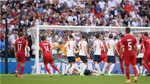 Damsgaard lập 'siêu phẩm' đá phạt khiến Anh thua bàn đầu tiên ở EURO 2021