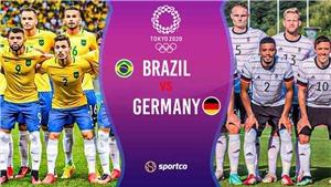 Trực tiếp bóng đá U23 Brazil vs Đức. VTV5 VTV6 trực tiếp Olympic 2021