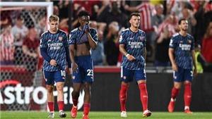 Điểm nhấn Brentford 2-0 Arsenal: Đội hình lạ lẫm của Arteta. Arsenal phòng ngự quá tệ