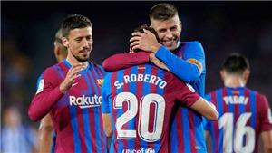 ĐIÊM NHẤN Barcelona 4-2 Sociedad: Pique là người hùng. Thắng mà không cần Messi