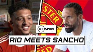 Jadon Sancho: 'Tôi sẽ vươn tới trình độ như Messi'