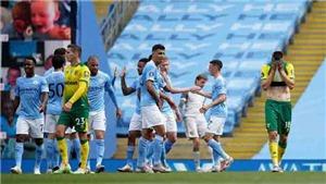 Kết quả bóng đá Man City 5-0 Norwich: Grealish 'mở tài khoản', Man City thắng đậm trên sân nhà