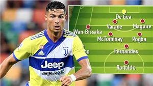MU sẽ dùng đội hình nào với Ronaldo?
