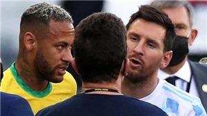 Toàn bộ diễn biến vụ bắt giữ 4 cầu thủ Argentina khiến trận đấu với Brazil bị hủy