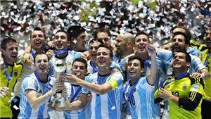 VTV6 TRỰC TIẾP bóng đá Futsal Argentina vs Mỹ, Futsal World Cup 2021 (00h00, 15/9)