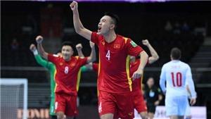 Tuyển futsal Việt Nam gặp Nga hoặc Kazakhstan ở vòng 1/8 futsal World Cup