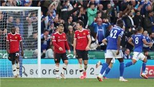"""Leicester 4-2 MU: Thảm họa hàng thủ, MU thua bẽ mặt trước """"Bầy cáo"""""""