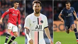Bóng đá hôm nay 14/10: Mbappe đẳng cấp ngang Messi và Ronaldo, Barca nợ Liverpool 42 triệu
