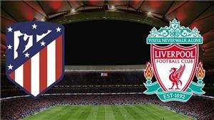 TRỰC TIẾP bóng đá Atletico Madrid vs Liverpool, Cúp C1 (02h00, 20/10)