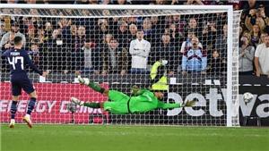 Foden đá hỏng luân lưu, Man City bị loại khỏi Cúp Liên đoàn Anh