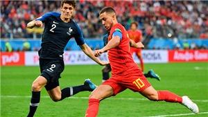 Bỉ vs Pháp: Bao giờ áo Lam xanh trở lại?