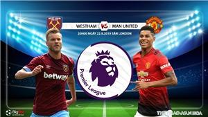 K+, K+PM trực tiếp bóng đá West Ham đấu với Man Utd