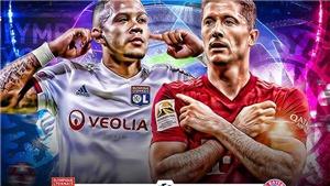 Bayern Munich vs Lyon: Quái vật Bayern sẵn sàng nuốt chửng thế giới