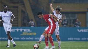 VIDEO bóng đá V League, Viettel vs HAGL: Tranh cãi tình huống bắt việt vị Hồng Duy